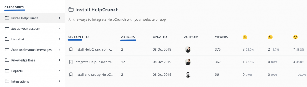 HelpCrunch knowledge base - HelpCrunch blog