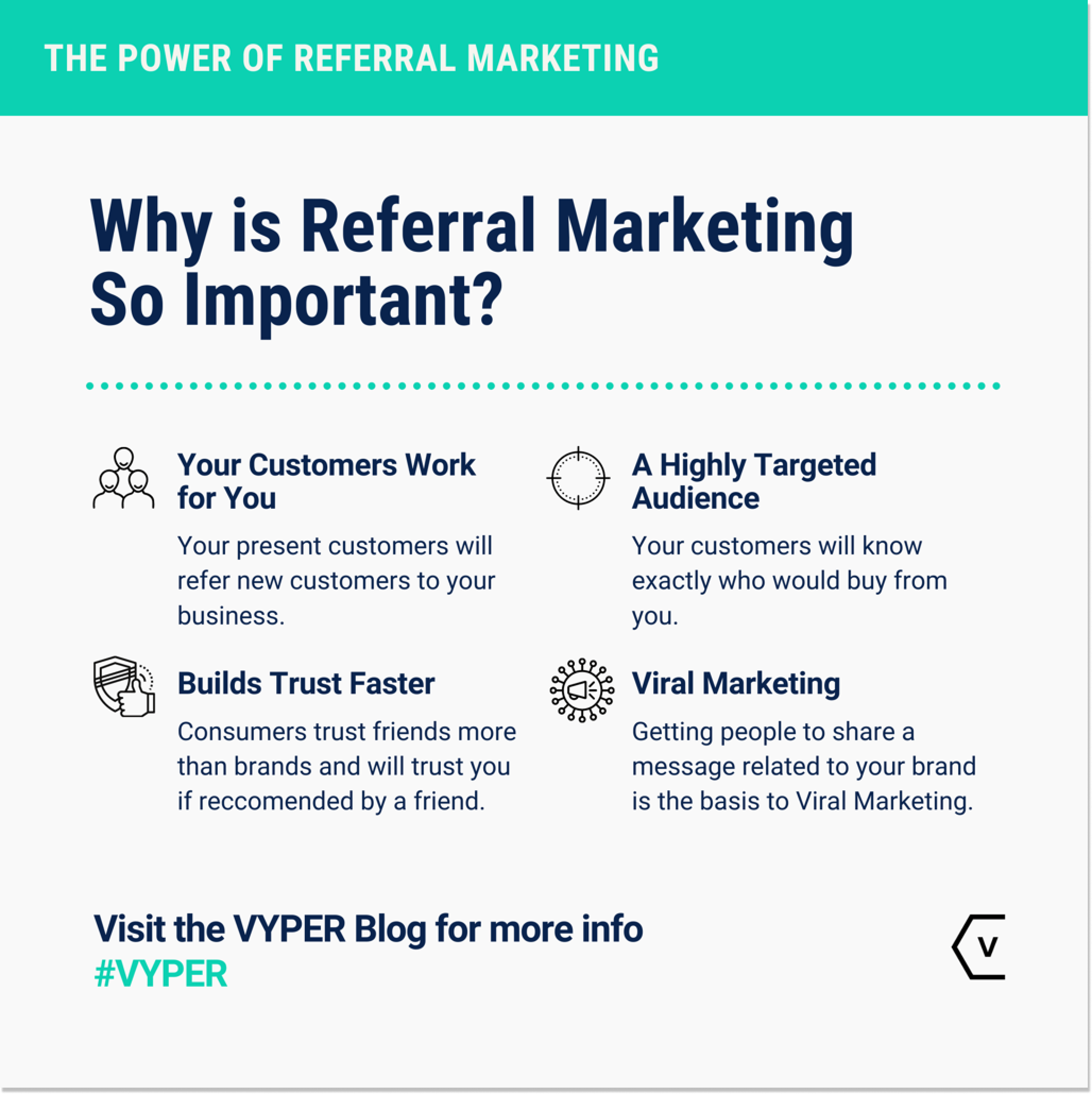 why is referral marketing important? (viper.io)