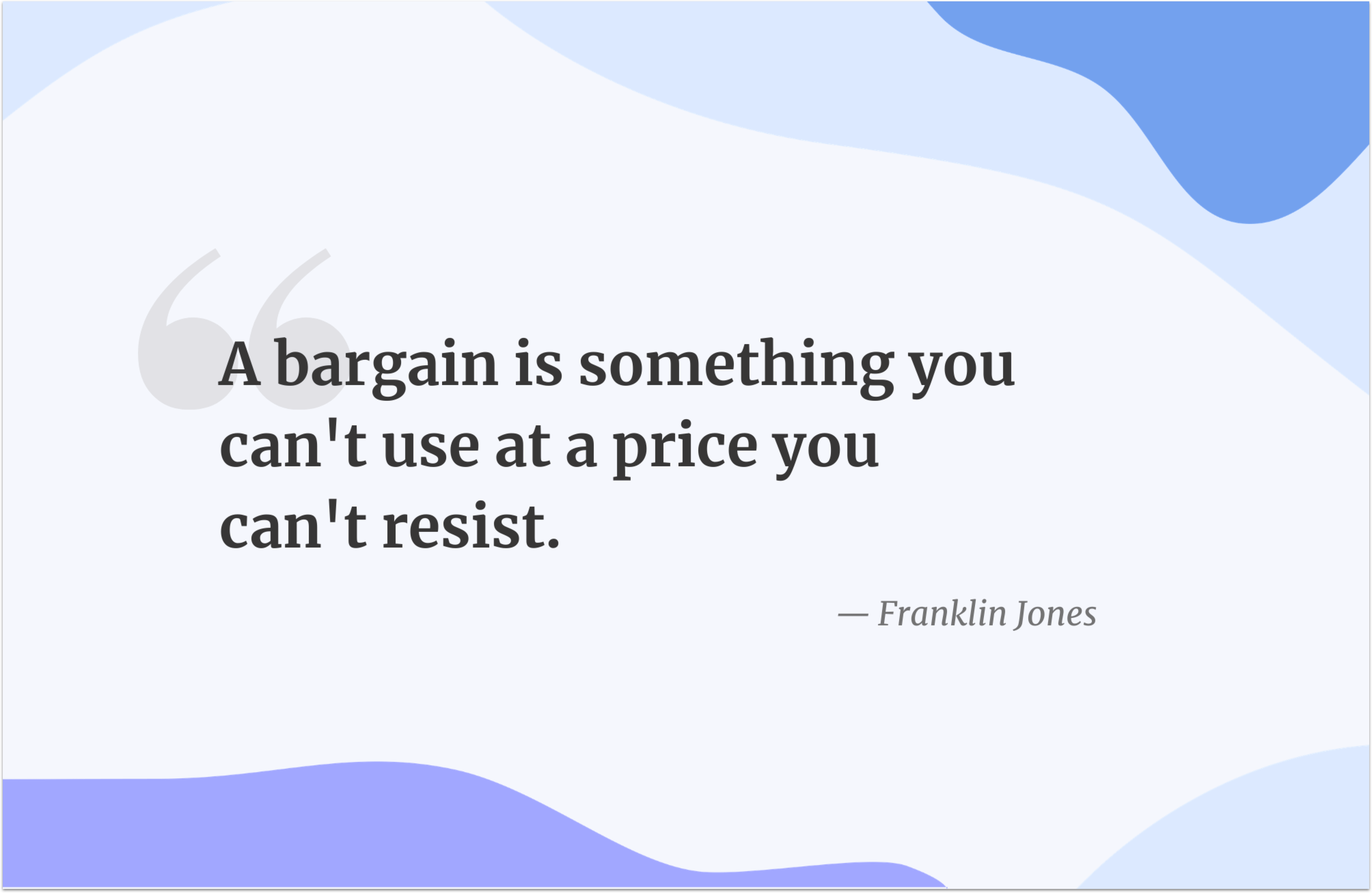Black Friday quote by Franklin Jones
