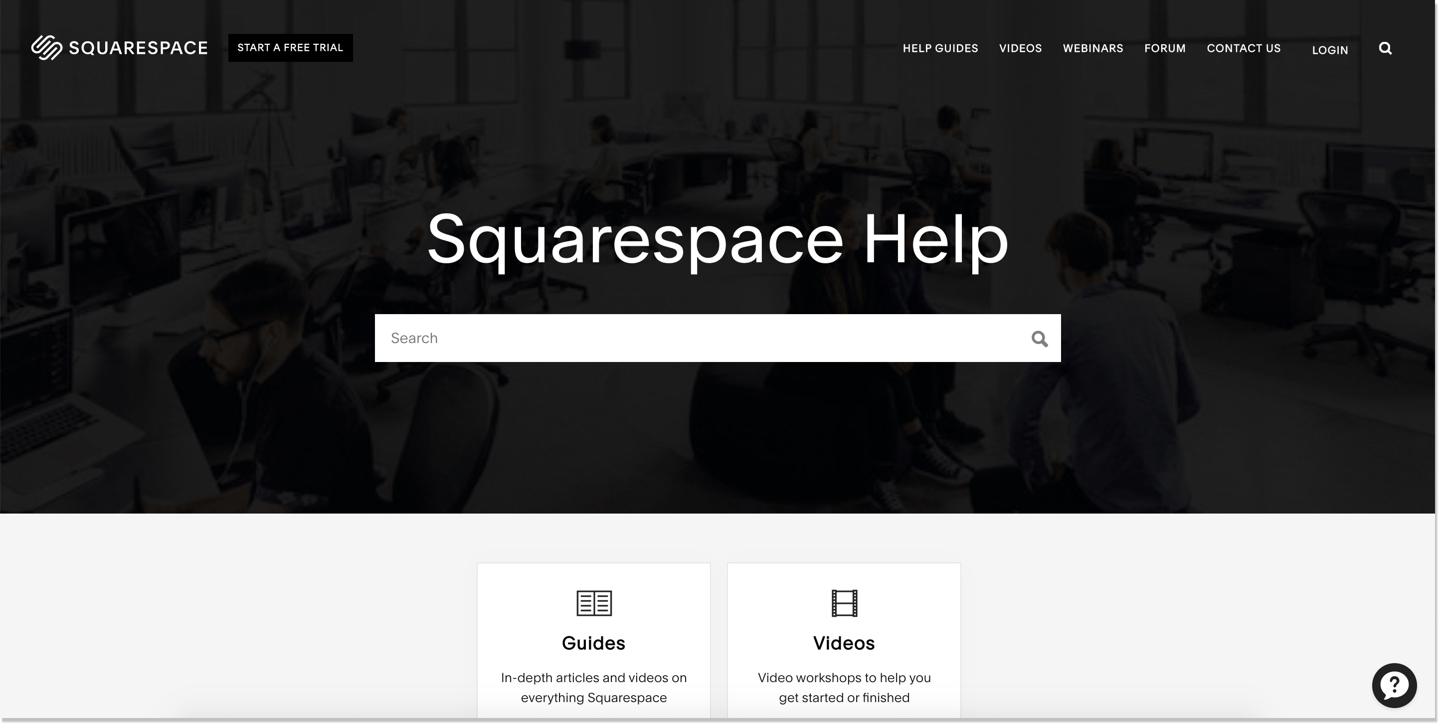 squarespace help center
