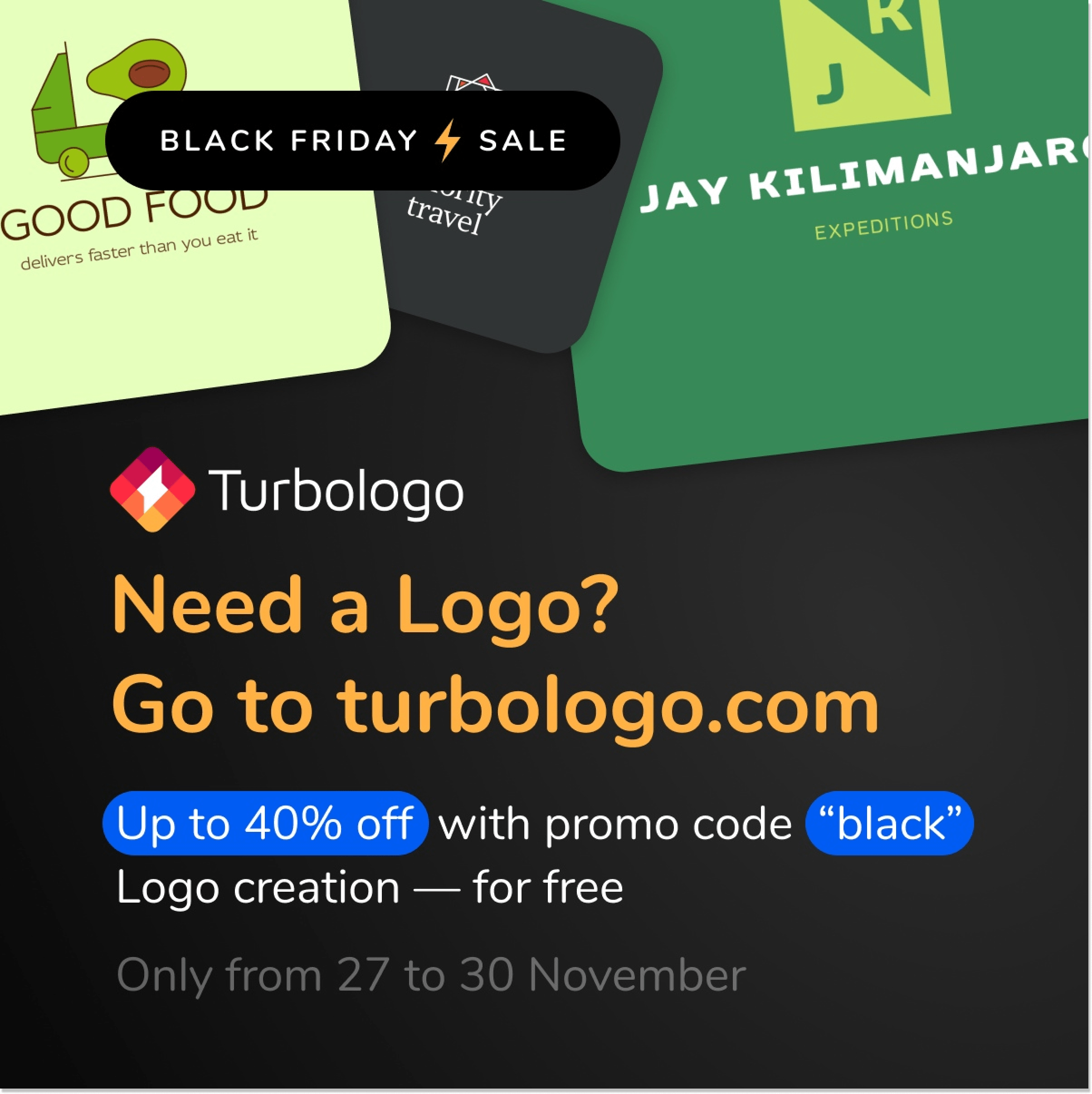turbologo bf deal