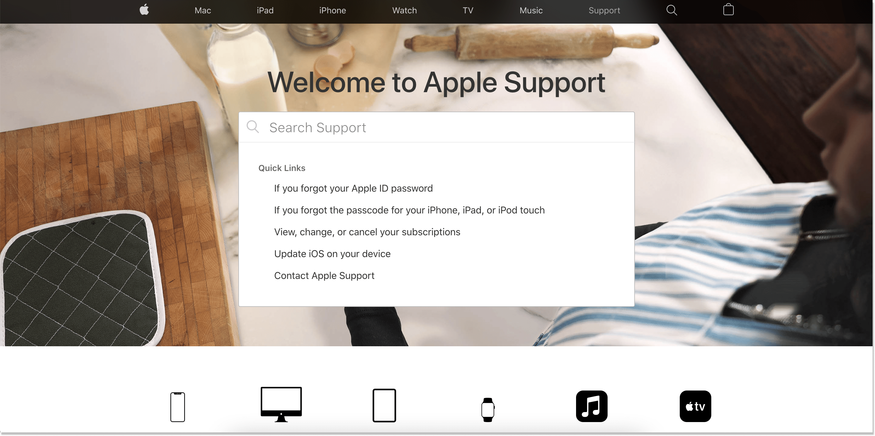 apple knowledge base