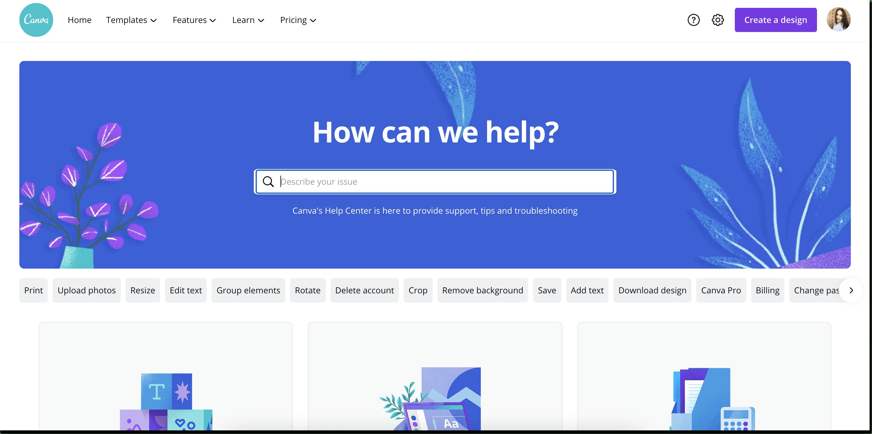 canva knowledge base