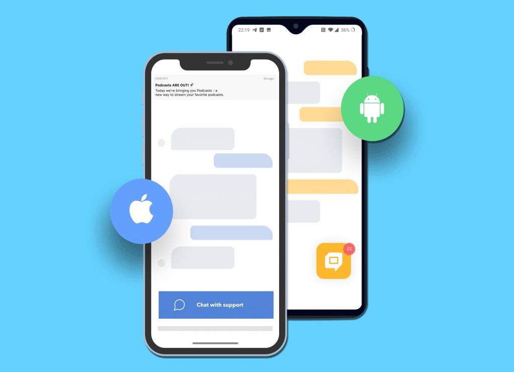 helpcrunch chat sdk in app support