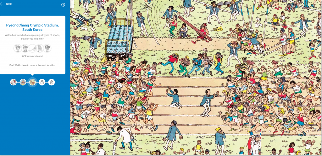 Where's Waldo Google game