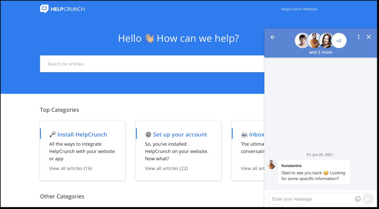 CS Tool HelpCrunch
