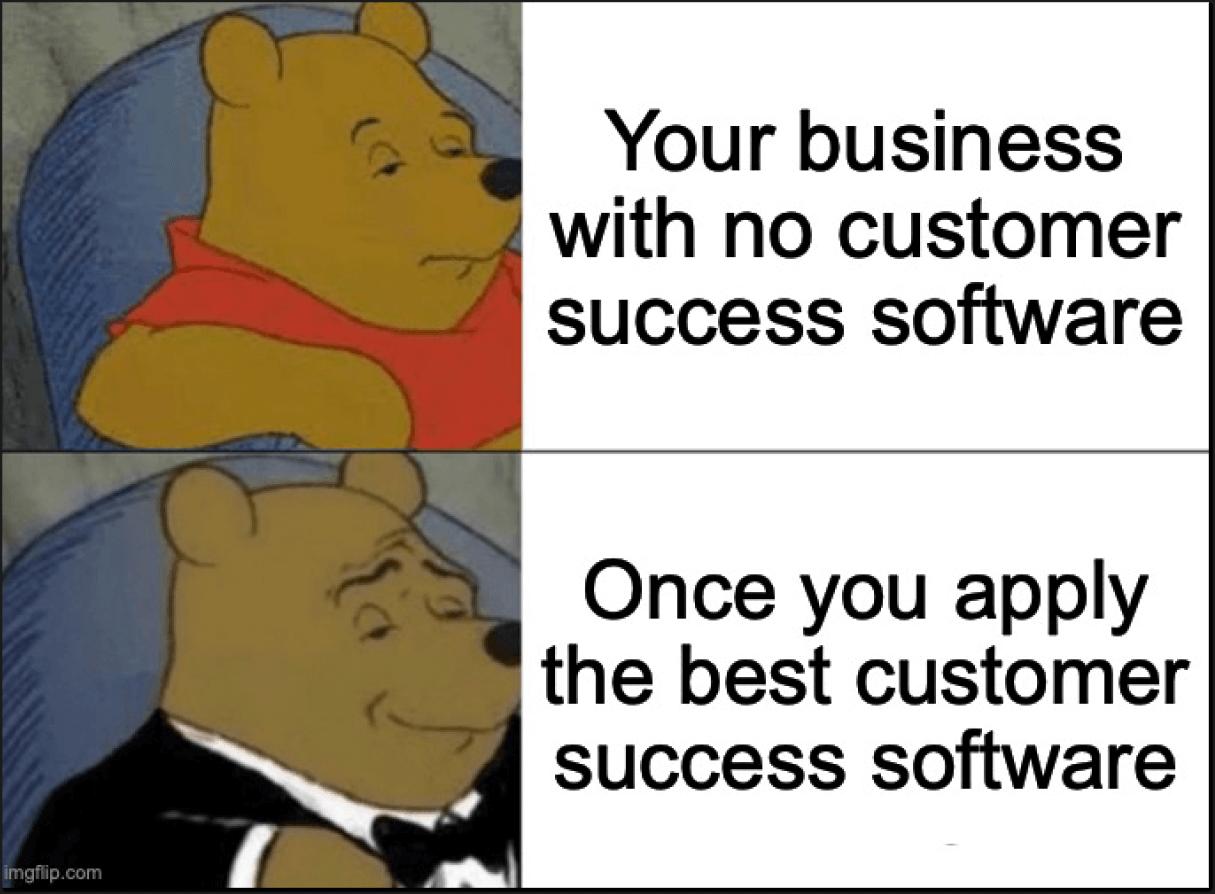 Customer success software meme